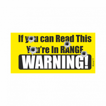 Warning, If you can read this you're in Range